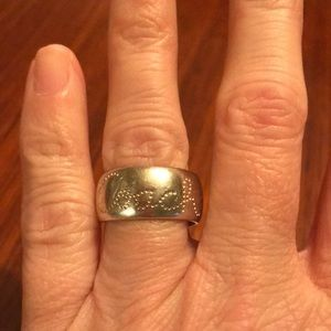 Silver ring!